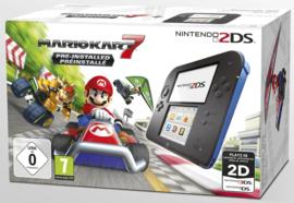 Nintendo 2DS Blauw Zwart + Mario Kart 7