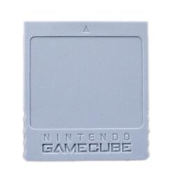 Gamecube Memorycard 59 Blocks Nintendo