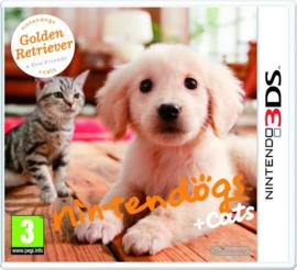 Nintendogs + Cats Golden Retriever - 3DS