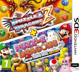 Puzzle & Dragons Z + Puzzle & Dragons: Super Mario Bros. Edition (Losse Cartridge) - 3DS