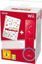 Wii Play Motion + Wii-Afstandsbediening Rood