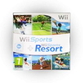 Wii Sports + Wii Sports Resort (Kartonnen Hoes) - Wii