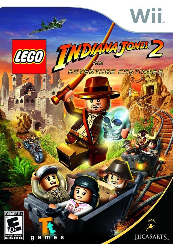 Lego Indiana Jones 2 The Adventure Continues - Wii