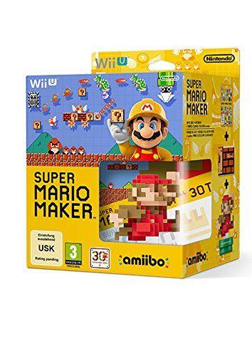 Super Mario Maker + Amiibo & Artbook - Boxed