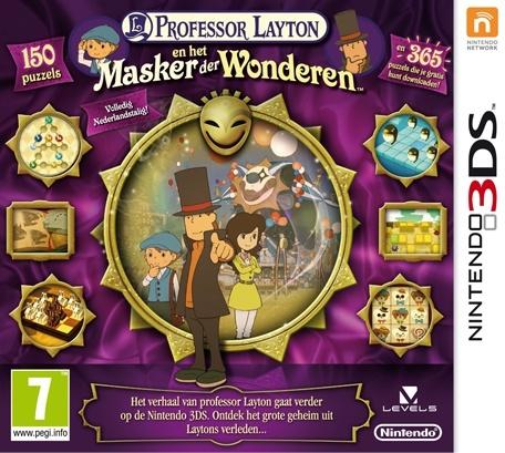 Professor Layton en Het Masker der Wonderen - 3DS