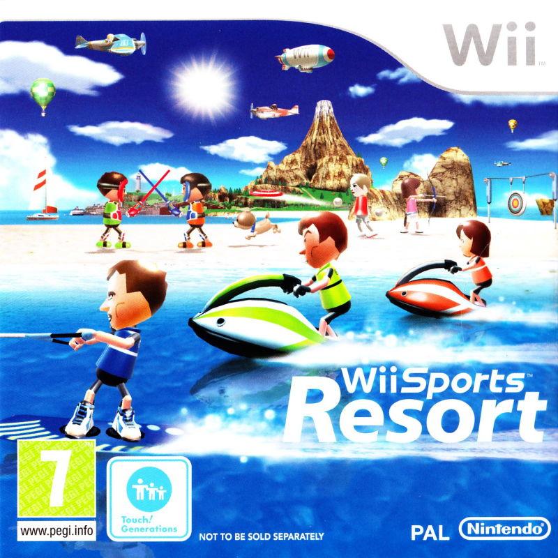 Wii Sports Resort Cartboard