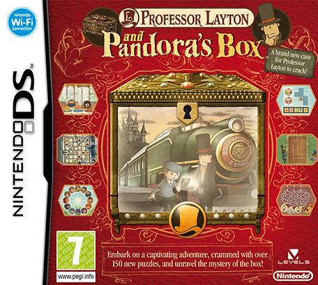 Professor Layton en de Doos van Pandora - DS