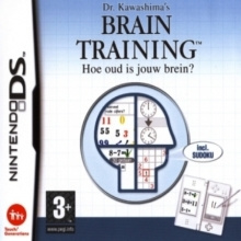 Dr. Kawashima's Brain Training: Hoe oud is jouw brein? - DS