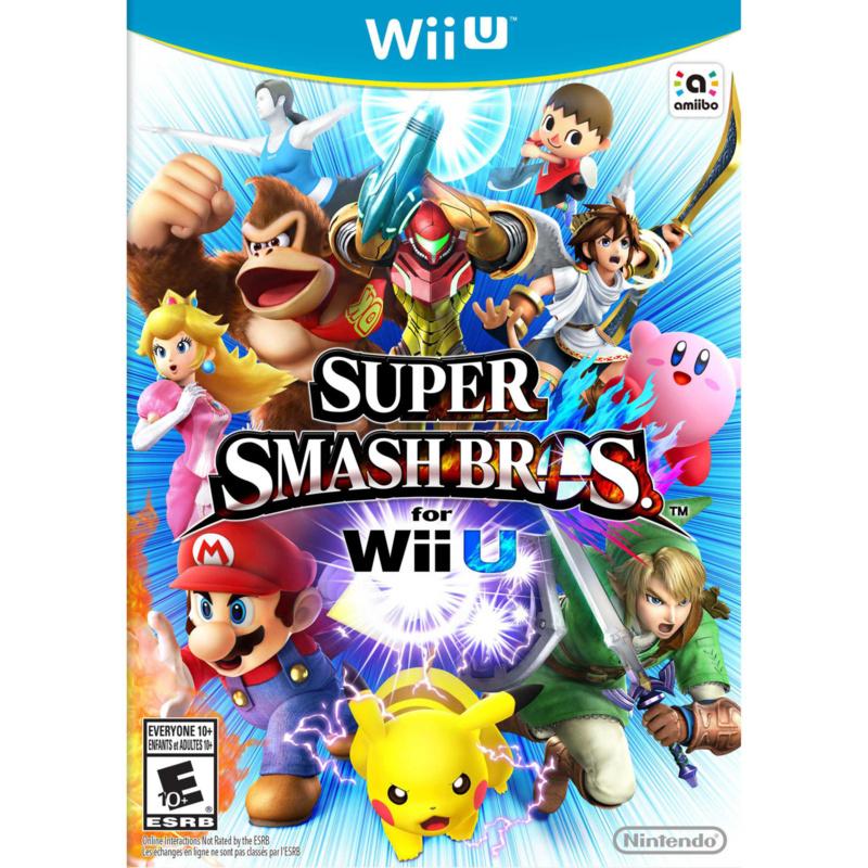 Super Smash Bros - Wii U