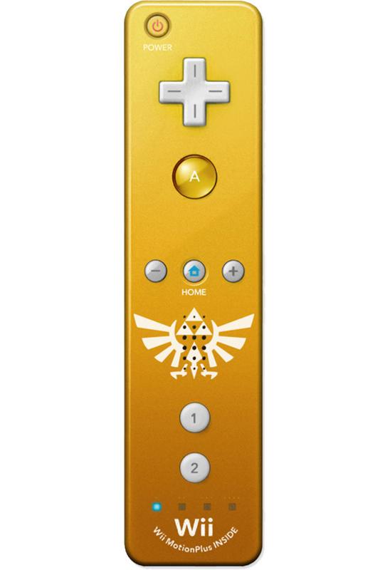 Wii-Afstandsbediening Plus Goud