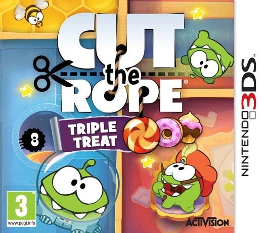 Cut The Rope Triple Treat - 3DS