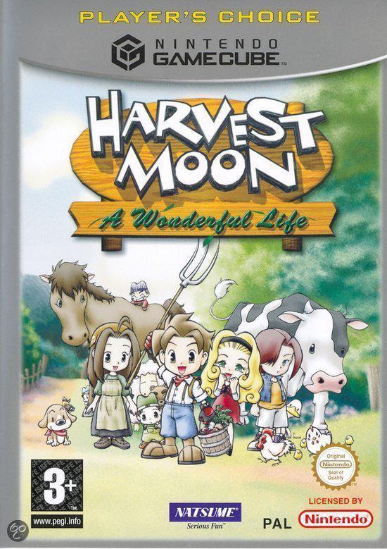 Harvest Moon A Wonderful Life (zonder handleiding) - Gamecube