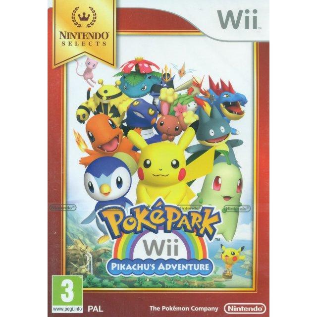 Poképark Wii Pikachu's adventure Nintendo Selects - Wii