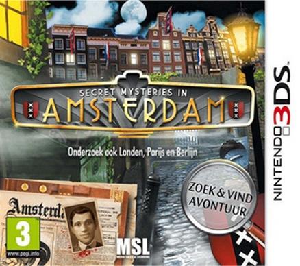Secret Mysteries In Amsterdam - 3DS