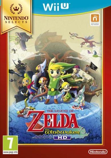 The Legend of Zelda The Wind Waker HD Nintendo Selects