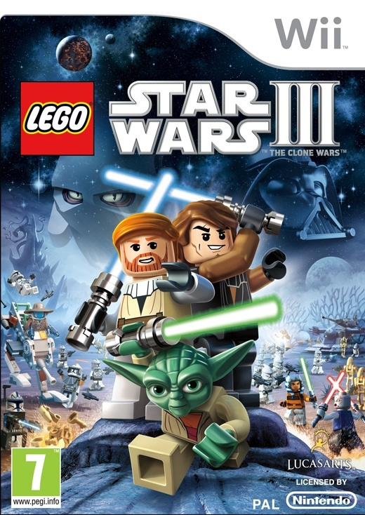 Lego Star Wars III The Clone Wars - Wii