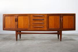 Vintage design dressoir ontworpen door G-Plan in 1950