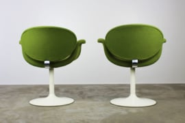 Set van 2 ''Little Tulip'' chairs Designed By: Pierre Pauling voor Artifort 1960