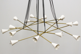 Stunning Cluster Chandelier Designed By: Stilnovo