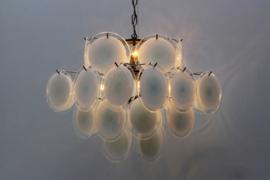 Murano Glass Chandelier Designed By: Gino Vistosi