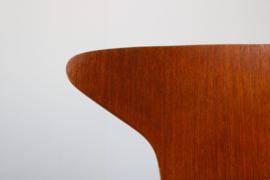 Set van 7 ''Mosquito'' Chairs ontworpen door Arne Jacobsen voor Fritz hansen  1950