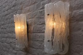 Ice Glass Wandlampen Designed By: Hillebrand