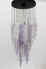 Icicle Chandelier Designed By: Mazzega