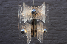 Ice Glass chandelier designed by: Kaiser Leuchten Germany