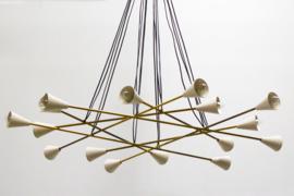 Stunning Cluster Chandelier Designed By: Stilnovo