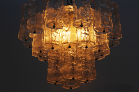 Ice glass chandelier Designed By: Paolo Venini
