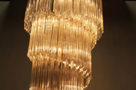 Crystal Spiral Chandelier Designed By: Paolo Venini