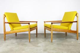 Set 2 fauteuils ontworpen door Aksel Bender Madsen voor Bovenkamp 1950