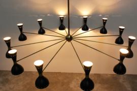 Massive chandelier Designed By: Stilnovo