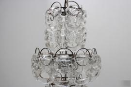 Murano Glass Chandelier By: Angelo Mangiarotti
