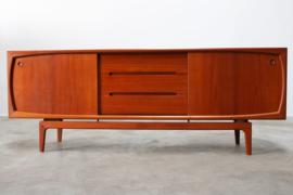 Deen design dressoir H.P. hansen teak 1950