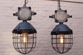 Stoere Industriele Kooilampen