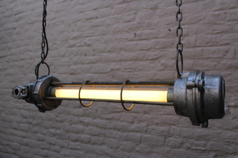 7x Explosievrije Industriele TL lamp fabriekslamp loft