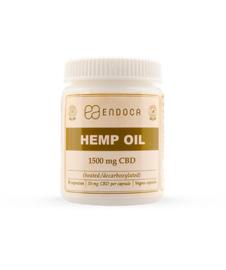 CBD Capsules Hempseed Oil (Endoca) 15% CBD 1500mg