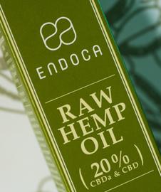 CBD Pasta Raw (Endoca) 10g 20% CBD & CBDa 2000mg