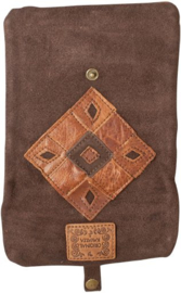 Original Kavatza Roll Pouch Patchwork Earth, Large (Earth)