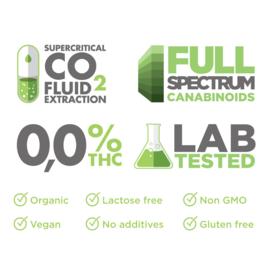 PharmaHemp CBD olie + Kurkuma 10 ml 5% (500 mg CBD)