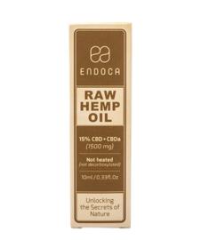 CBD Olie Raw (Endoca) 15% CBD 1500mg 10ml