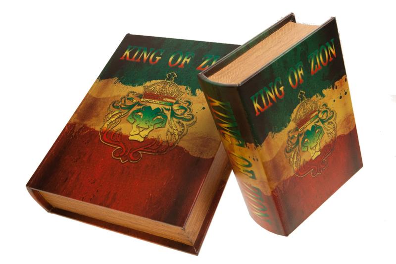 Original Kavatza Bong Book King Zion (extra large)