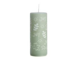 Joy Green Candle