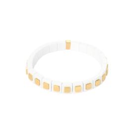 Armband Bricks Gold