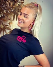 PINNED BY K T-SHIRT COCO BLACK