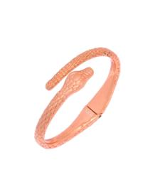 Emily Snake Armband Metallic Oranje