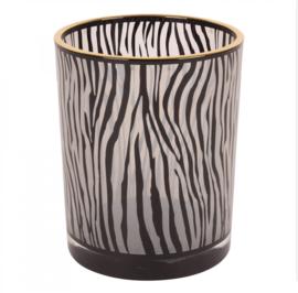 Zebra Waxinelichthouder