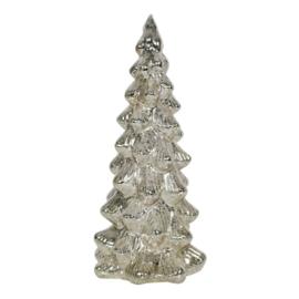 Led Dennenboom Zilver Large