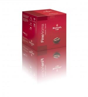 FineAroma E2 koffiecapsules in 4 heerlijke smaken